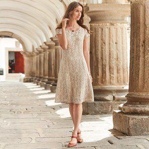 Sundance Sweetheart Lace A Line Dress